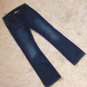 Banana Republic Dark Worn Wash Jeans